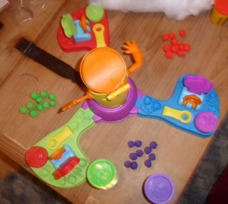Spielaufbau Kinderspiel Alle auf Kalle - Foto von Jörn Frenzel