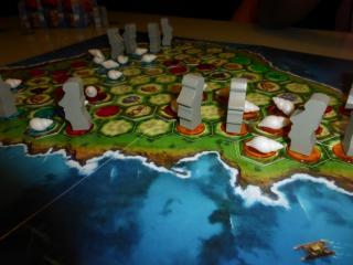 Spielaufbau Orongo  - Foto von Jörn Frenzel