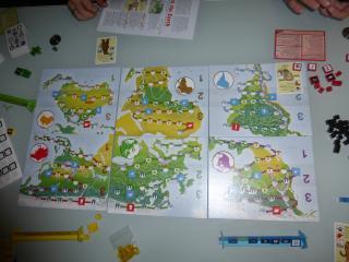 Inhabit The Earth Spielaufbau - Foto von Jörn Frenzel