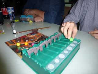 Spielszene von Schmuggler - Foto von Jörn Frenzel