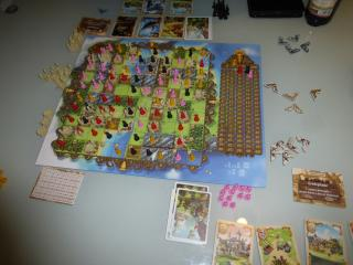 Weitere Spielszene bei Bunny Kingdom - Foto von Jörn Frenzel