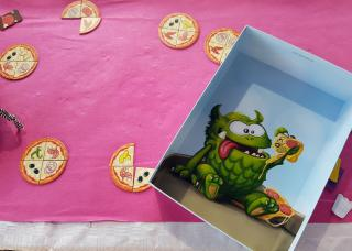 Illustration bei Pizza Monsters - Foto von Alex Sch.