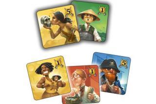 Plättchen von Jolly & Roger - Foto von Abacusspiele