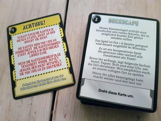 Spielmaterial Deckscape: Der Test - Foto von Alex Sch.