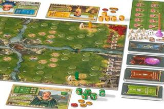 Spielmaterial The Rise Of Queensdale - Foto von Ravensburger