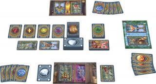 Die Portale von Molthar - Spielaufbau - Foto von Amigo Spiele