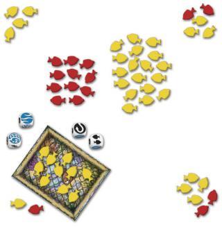 Spielsituation Schollen Rollen