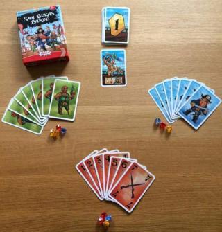 Spielmaterial Sam Bukas Bande - Foto von Wolfgang Laufs