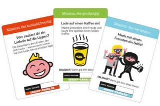 Spielkarten von Sneaky Cards - Foto von Amigo Spiele