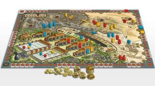 Worker-Placement-Spiel Yunnan - Spielplan - Foto von Argentum Verlag