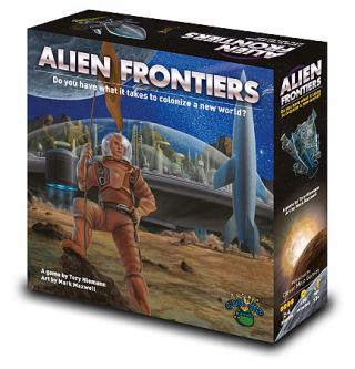 Alien Frontiers Schachtel von Game Salute