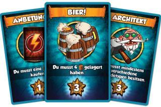 Vikings Gone Wild - Karten - Foto von Corax Games