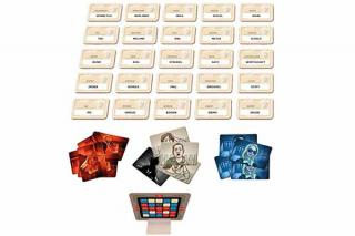 Spielaufbau Codenames - Foto von Heidelberger Spieleverlag