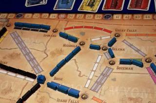 Situation bei Zug um Zug - Der Wilde Westen - Foto von Axel Bungart