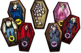 Vampire bei Särge schubsen - Foto von Drei Magier