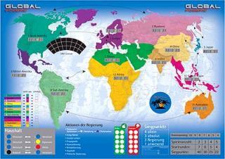 Global Powers - Spielplan von eggertspiele