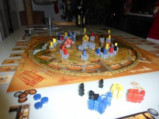 Weitere Spielsituation bei Porta Nigra - Foto von Jörn Frenzel