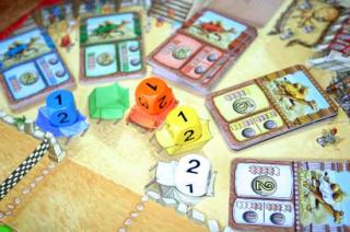Spielszene von Camel Up - Foto Reich der Spiele