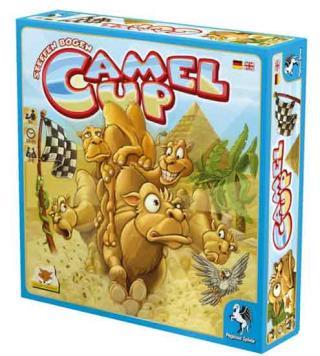 Familienspiel Camel Up Spielschachtel - Foto eggertspiele
