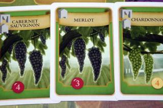 Karten von Viticulture - Weinreben zum Anpflanzen - Foto Reich der Spiele