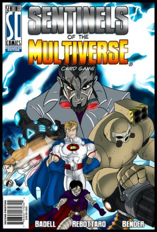 Sentinels of the Multiverse. Foto: Verlag