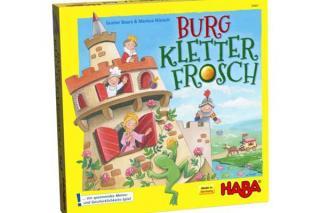 Kinderspiel Burg Kletterfrosch  Foto von Haba