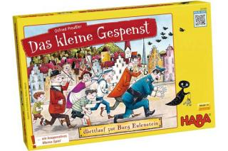 Das kleine Gespenst: Wettlauf zur Burg Eulenstein - Spieleschachtel - Foto von Haba