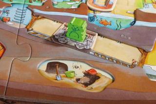 Spielbrettdetail von Hamsterbande - Foto von Haba