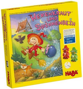 Hexenkraut & Spinnenbein - Schachtel von Haba