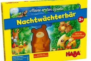 Kinderspiel Nachtwächterbär Schachtel - Foto von Haba