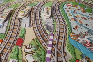 Spielbrett - Tschu-Tschu, kleine Eisenbahn - Foto von Alex Sch.