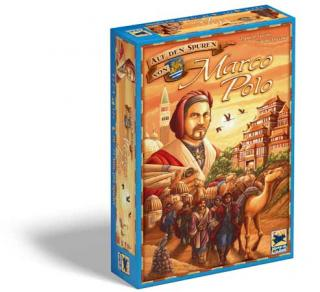 Auf den Spuren von Marco Polo - Spieleschachtel - Foto von Hans im Glück