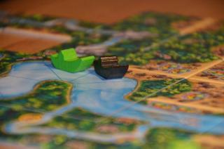 Carcassonne Amazonas - Spielsituation 2 - Foto von Axel Bungart