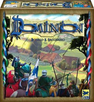 Dominion - alte Schachtelgrafik von Hans im Glück
