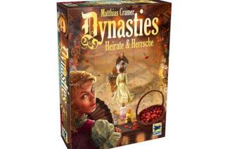 Brettspiel Dynasties - Spieleschachtel - Foto von Hans im Glück