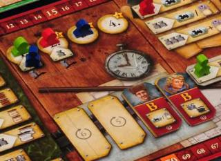 Russian Railroads - Details vom Spieltableau - Foto von Hans im Glück