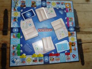 Aufbau Monopoly World: Here & Now - Foto von Jörn Frenzel