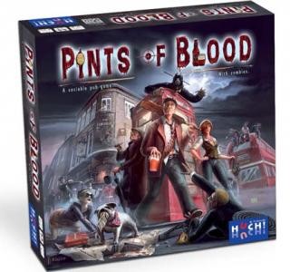 Zombiespiel Pints of Blood Schachtel - Foto von Huch and friends