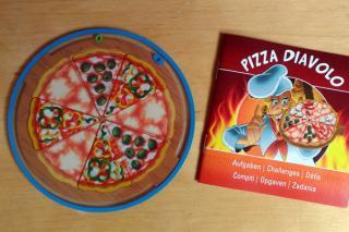 Pizza Diavolo - Foto: Steffi Münzer