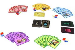 Dungeon Busters - das Spiel beginnt - Foto von Korea Boardgames