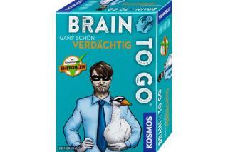 Schachtelgrafik von BRAIN TO GO Gans schön verdächtig, Foto: Kosmos