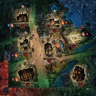 Spielplan Der Hexer von Salem - Foto von Kosmos