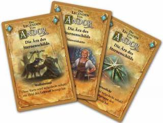 Die Legenden von Andor: Der Sternenschild - Spieljkarten - Foto von Kosmos