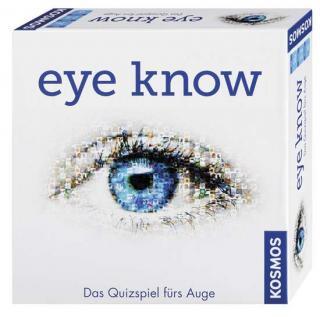 Schachtel Quizspiel Eye know - Foto Kosmos