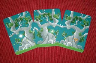 Kodama - Baumstammkarten - Foto von Reich der Spiele