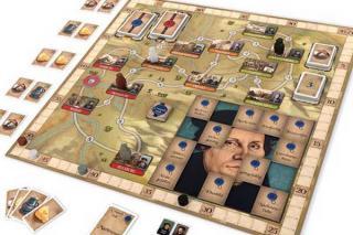 Spielplan von Luther - Das Spiel - Foto von Kosmos