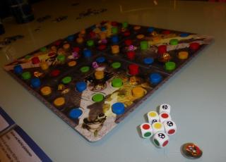 Noch eine Spielszene bei Tschakka Lakka  - Foto von Jörn Frenzel