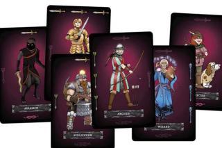 Spielkarten von Dungeon Rush - Foto von Lautapelit