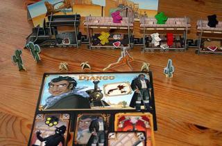 Gesellschaftsspiel Colt Express Spielaufbau - Foto von Reich der Spiele