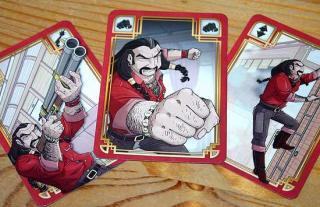 Gesellschaftsspiel Colt Express Spielkarten - Foto von Reich der Spiele